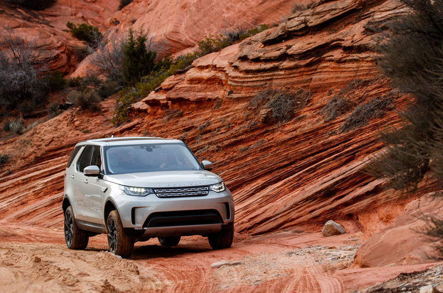 Land Rover Discovery in the US