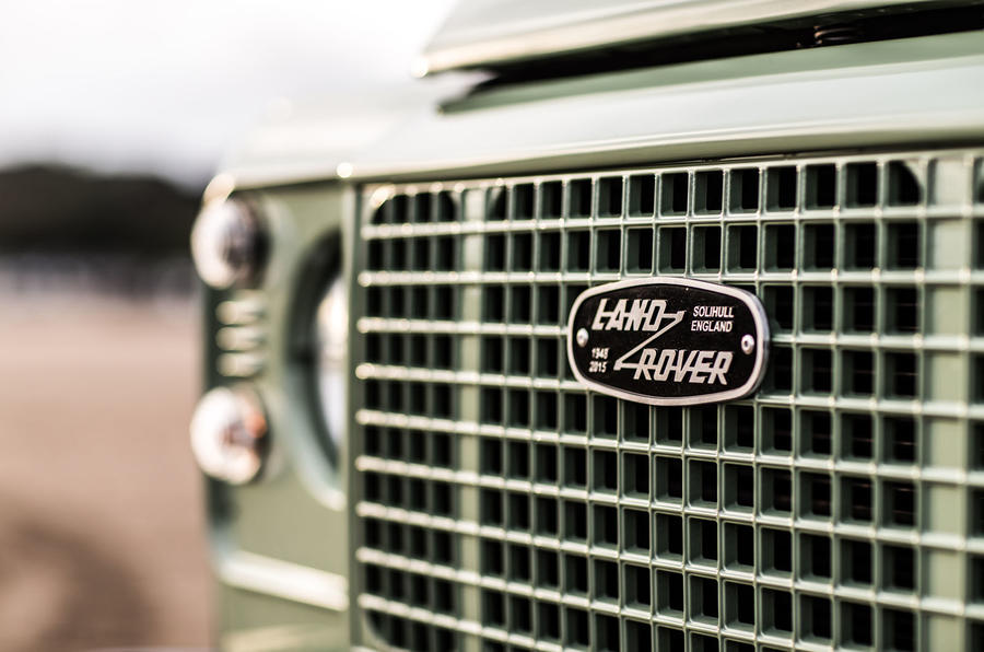The Heritage Edition features Grasmere Green metallic paintwork and a silver front bumper