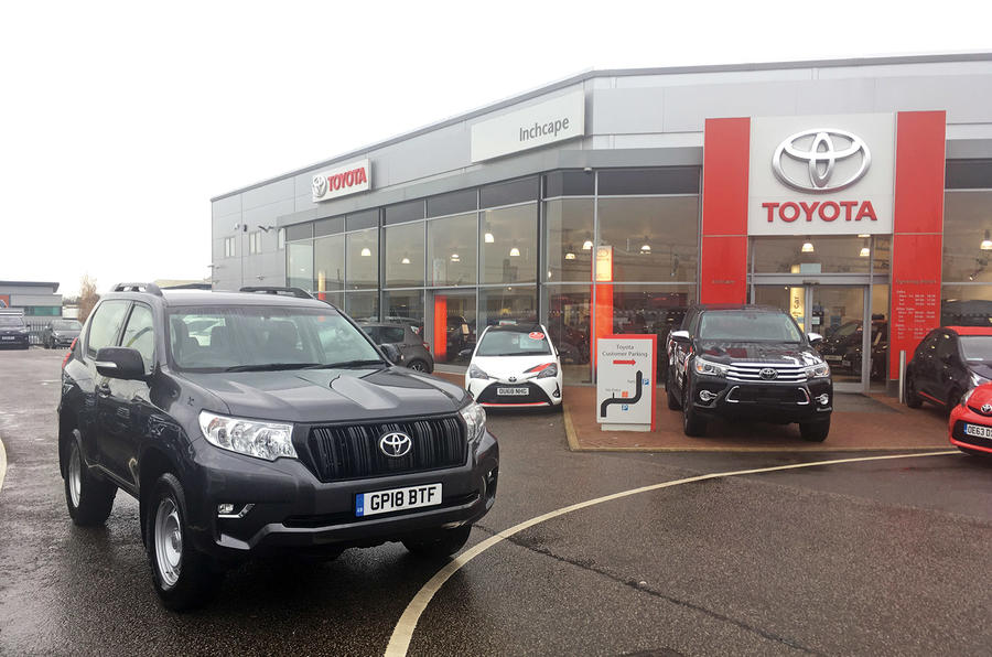 Toyota Land Cruiser long-term review - 10,000 mile service