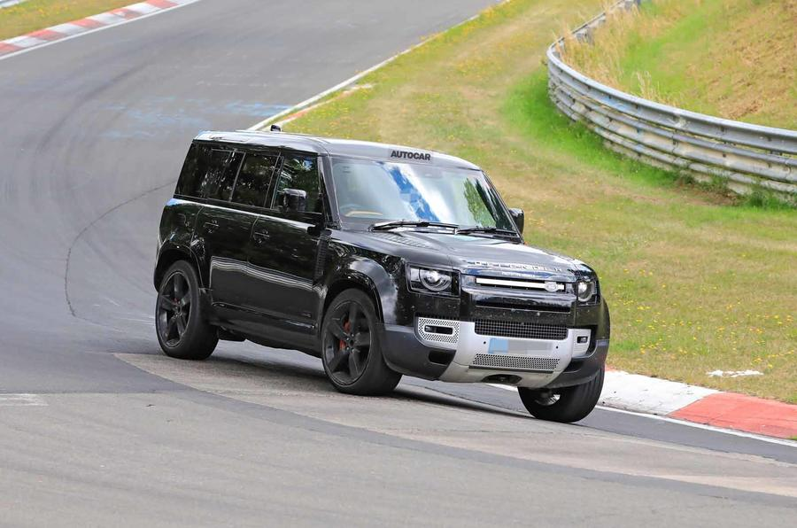 Land Rover Defender V8 Nurburgring front side