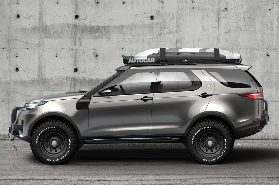 Hot New Land Rover Discovery Svx Planned Autocar