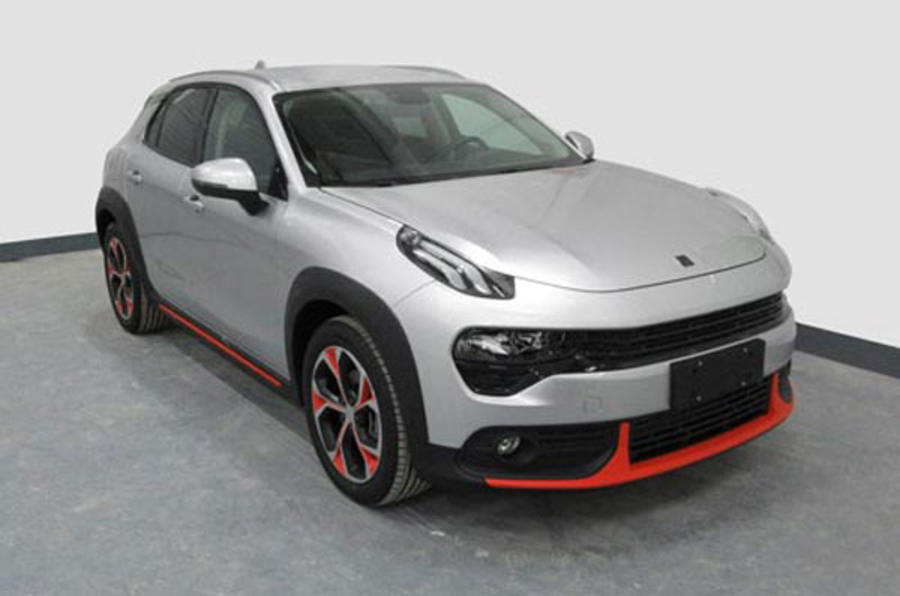 Lynk & Co 02 crossover breaks cover in Guangzhou