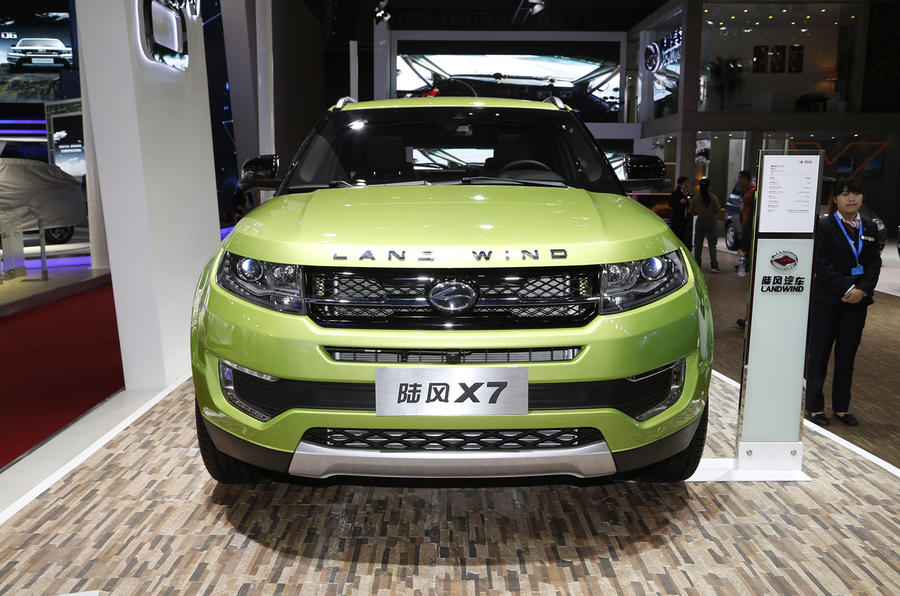 No issues' with Land Rover over Chinese Range Rover Evoque copy