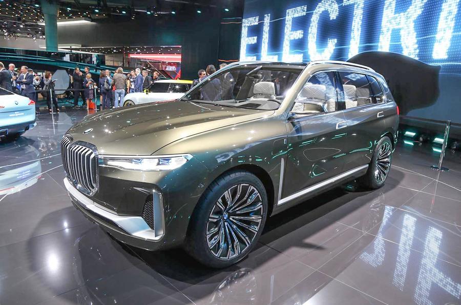 BMW X7 Frankfurt motor show