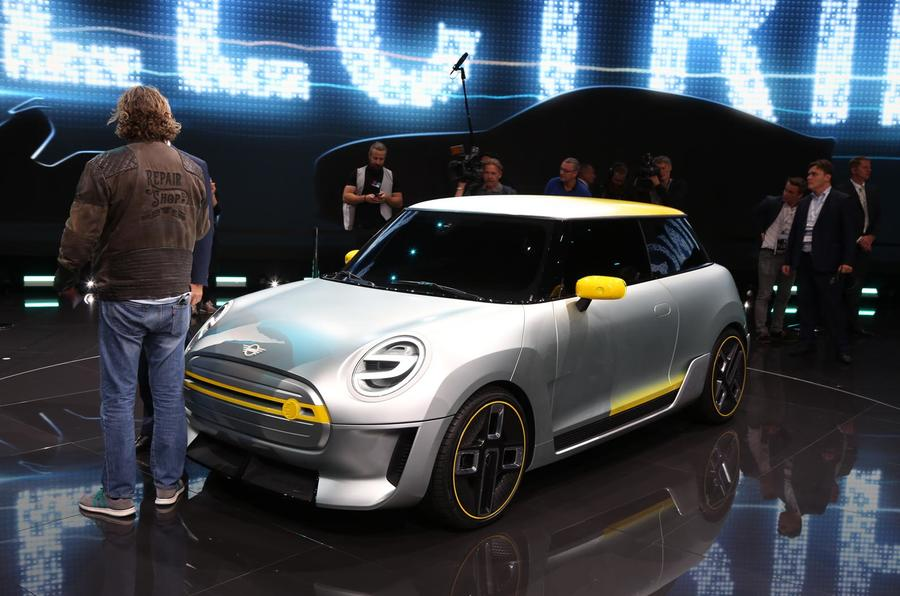 Mini Electric concept Frankfurt motor show