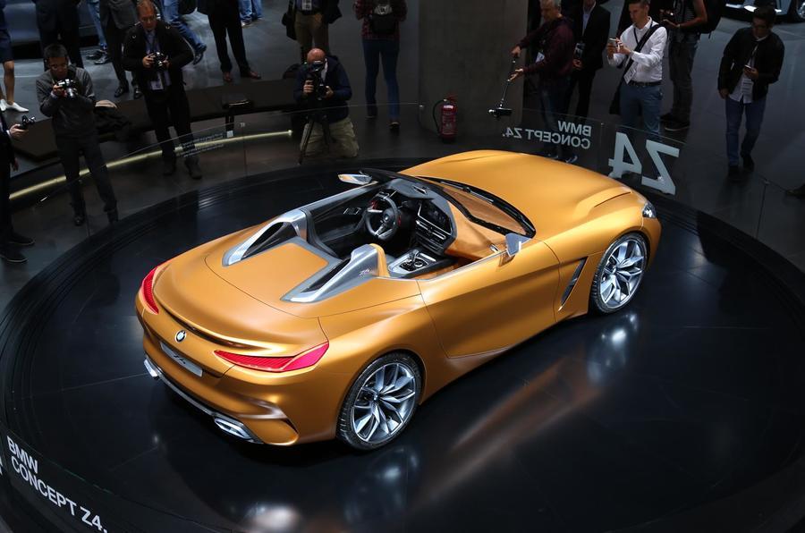 BMW Z4 concept Frankfurt motor show