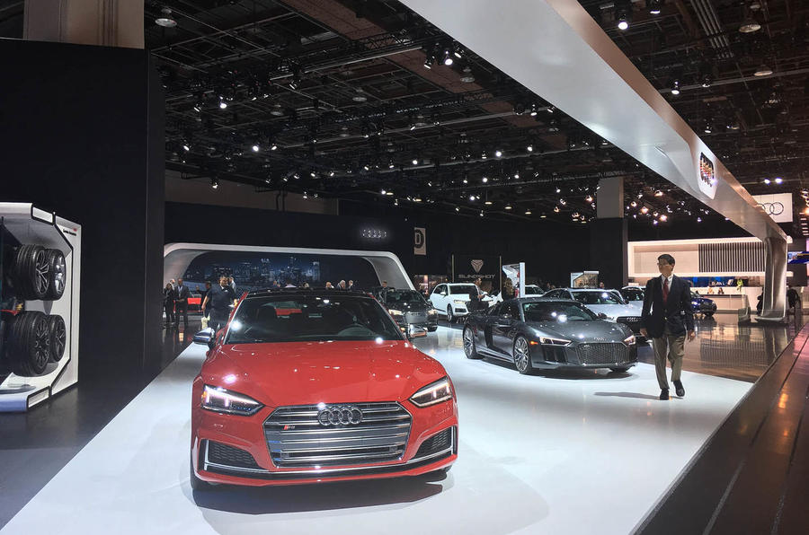 Audi stand at NAIAS