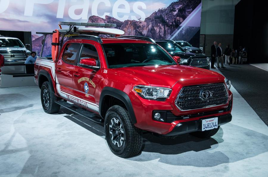 Toyota pickup lifeguard