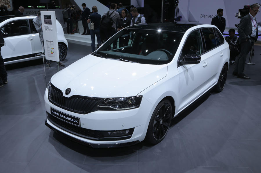 Facelifted Skoda Rapid Spaceback