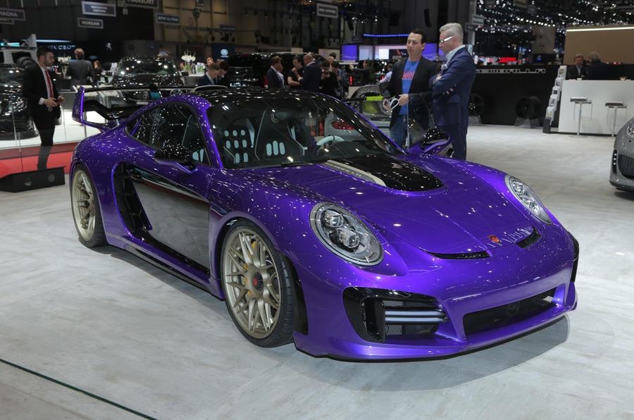 Porsche 911 given a going over