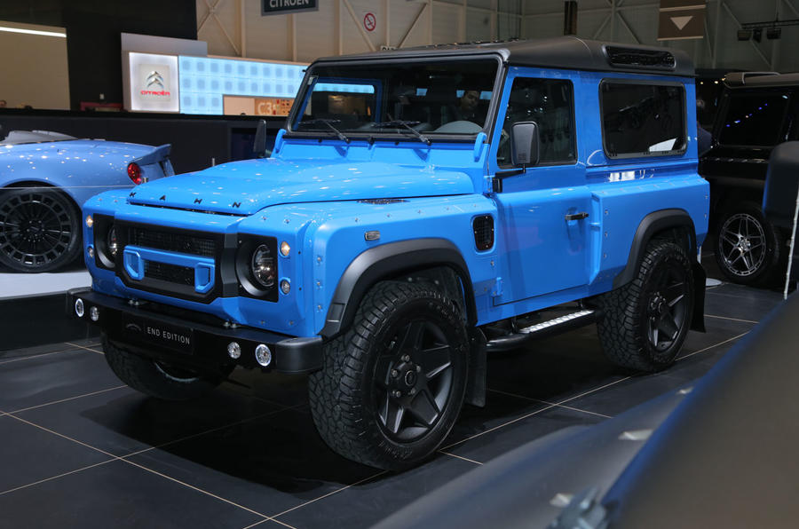 Kahn-tuned Land Rover Defender