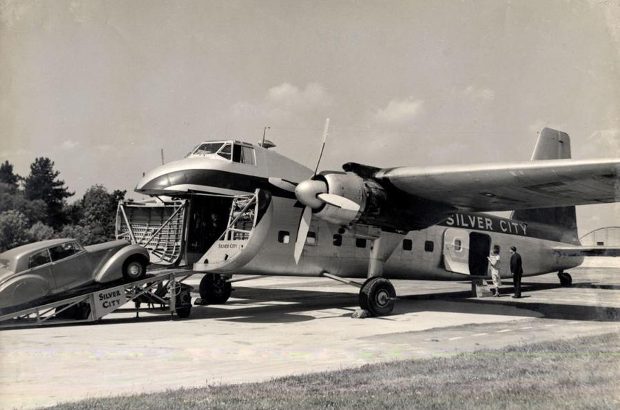Silver City Airways' Air Ferry