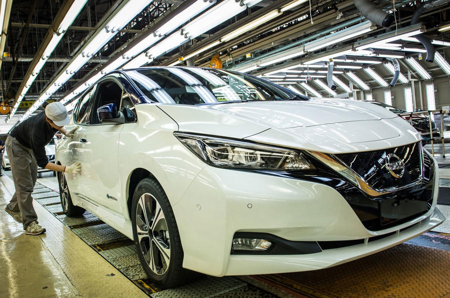 New Nissan Leaf production to take place in UK and US