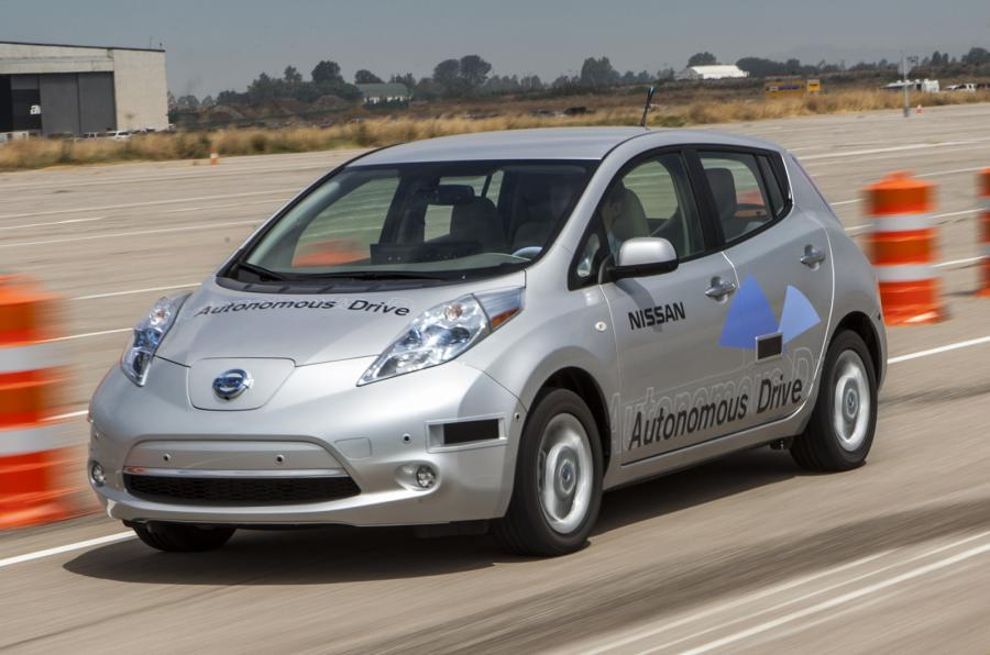 Autonomous Nissan LEAF hitting London roads next month