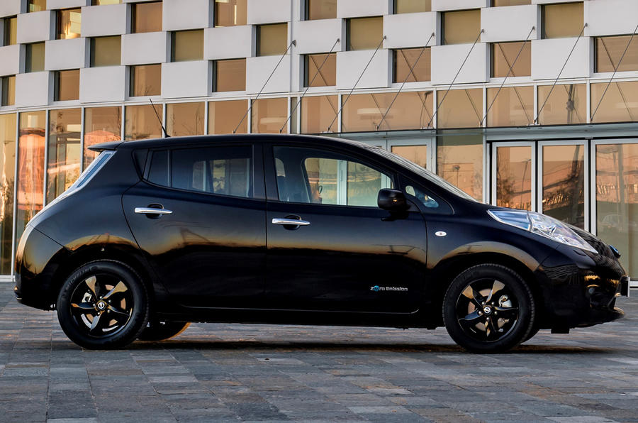 Nissan Leaf Black Edition revealed