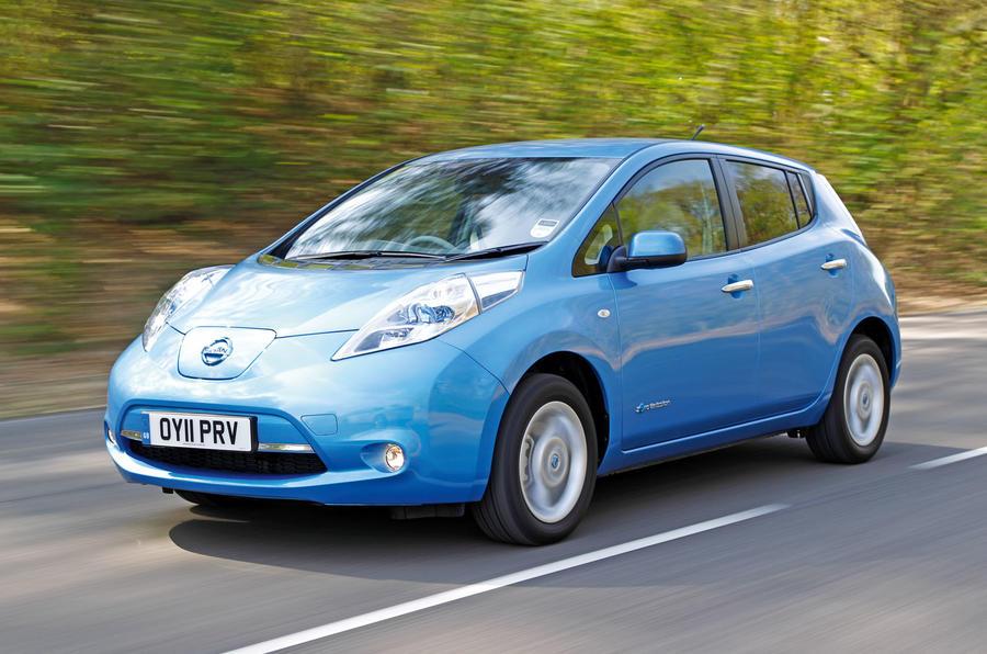 Nissan Leaf used