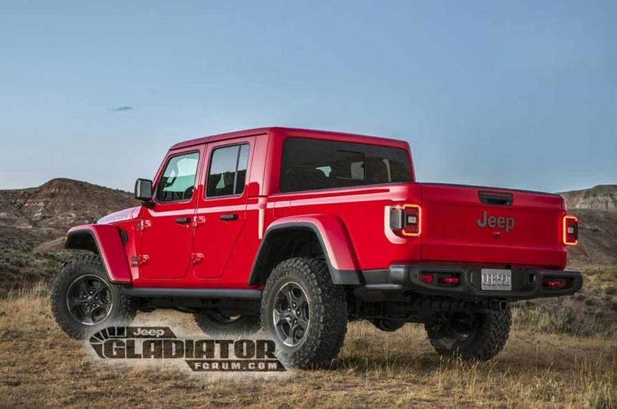Jeep Official Site >> New Jeep Gladiator pick-up leaked ahead of LA show debut | Autocar