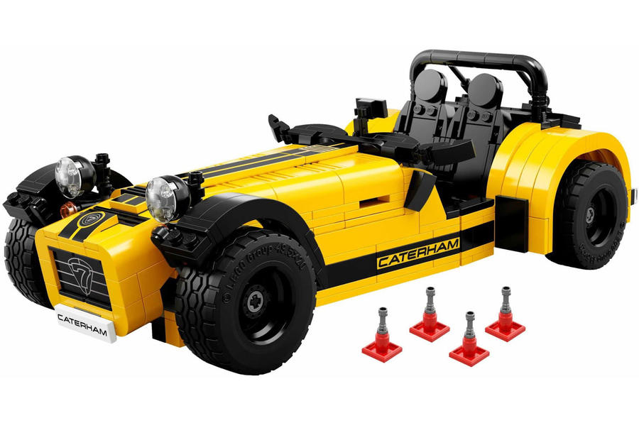 Caterham Seven 620R officially recreated by Lego