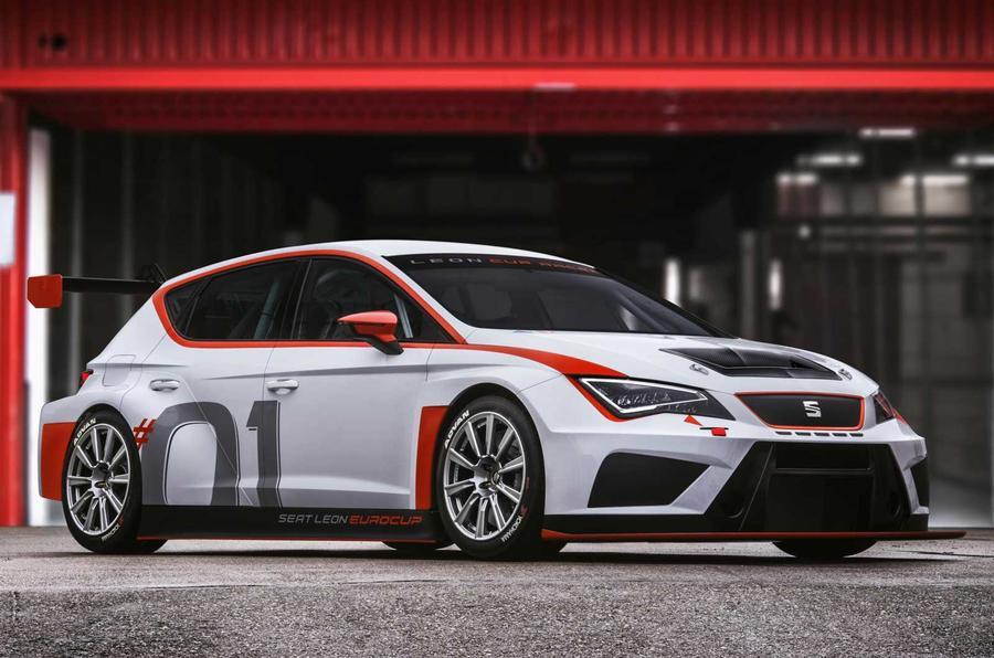 Seat Leon Cup race car