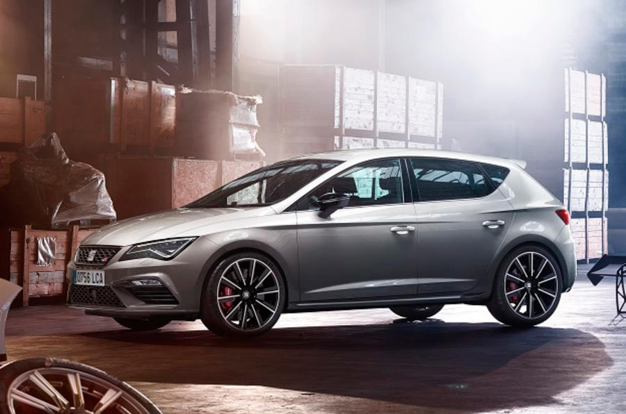 2017 seat leon cupra 300 296bhp and new all wheel drive. Black Bedroom Furniture Sets. Home Design Ideas