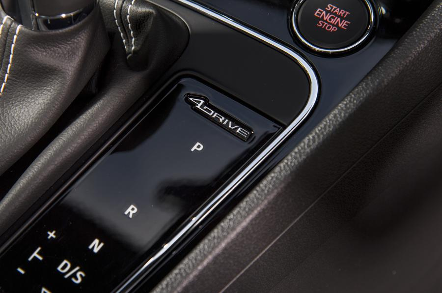 Seat Leon ST Cupra four-wheel drive controls