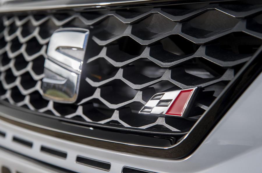 Seat Leon ST Cupra badging