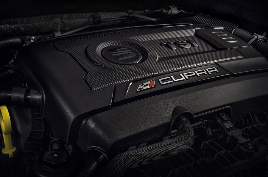 2.0-litre Seat Leon Cupra engine