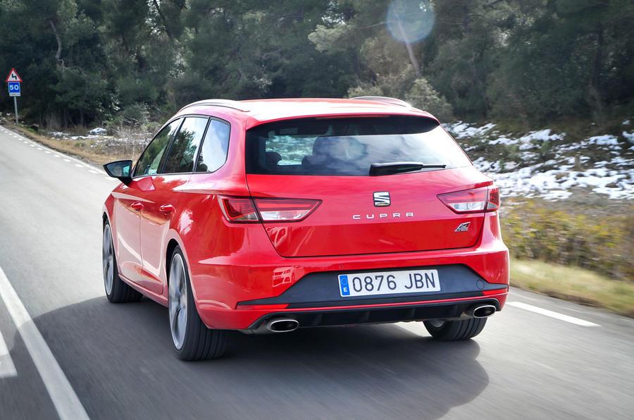 Seat Leon ST Cupra rear