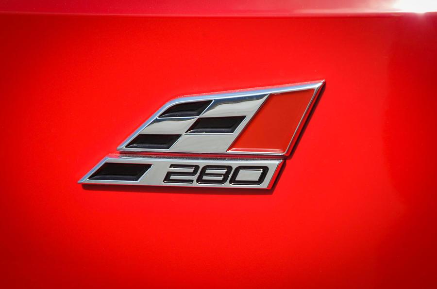 Seat Leon Cupra 280 badging