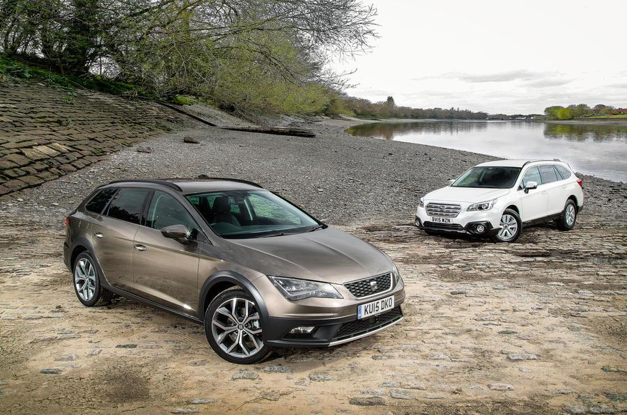 Seat Leon X-Perience versus Subaru Outback - comparison | Autocar