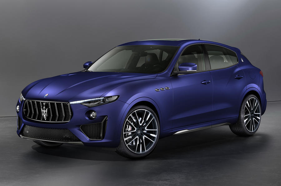 Maserati Levante Trofeo Launch Edition in Blu Emozione Matte