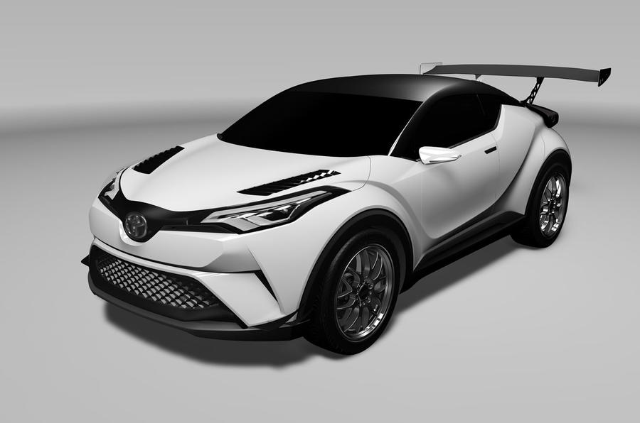 toyota c hr crossover will race at the n rburgring autocar. Black Bedroom Furniture Sets. Home Design Ideas