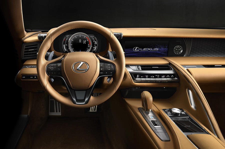 Lexus LC 500 Detroit