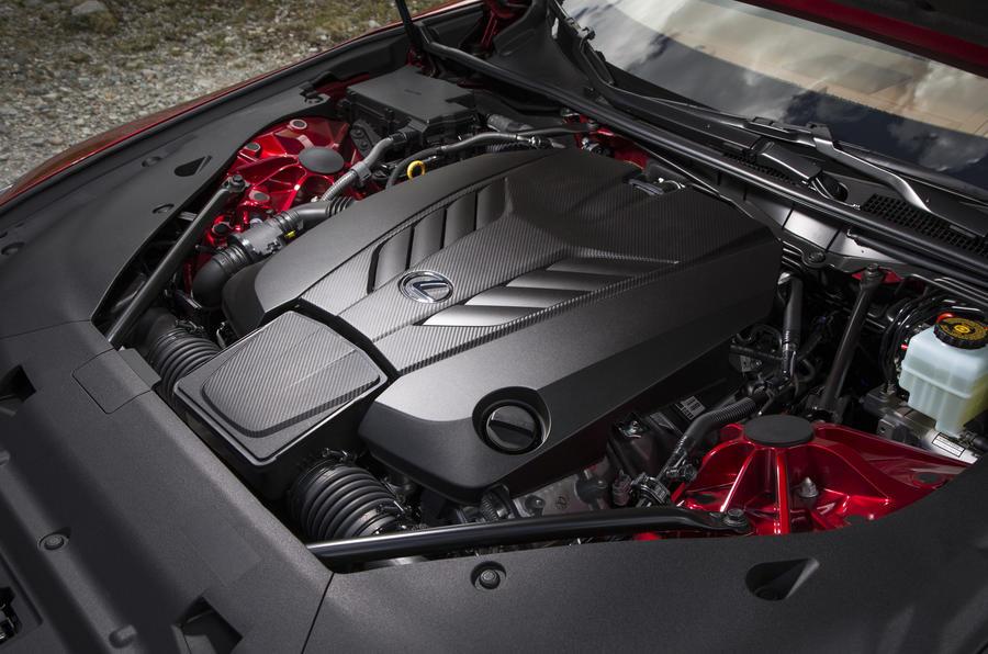 5.0-litre V8 Lexus LC500 engine