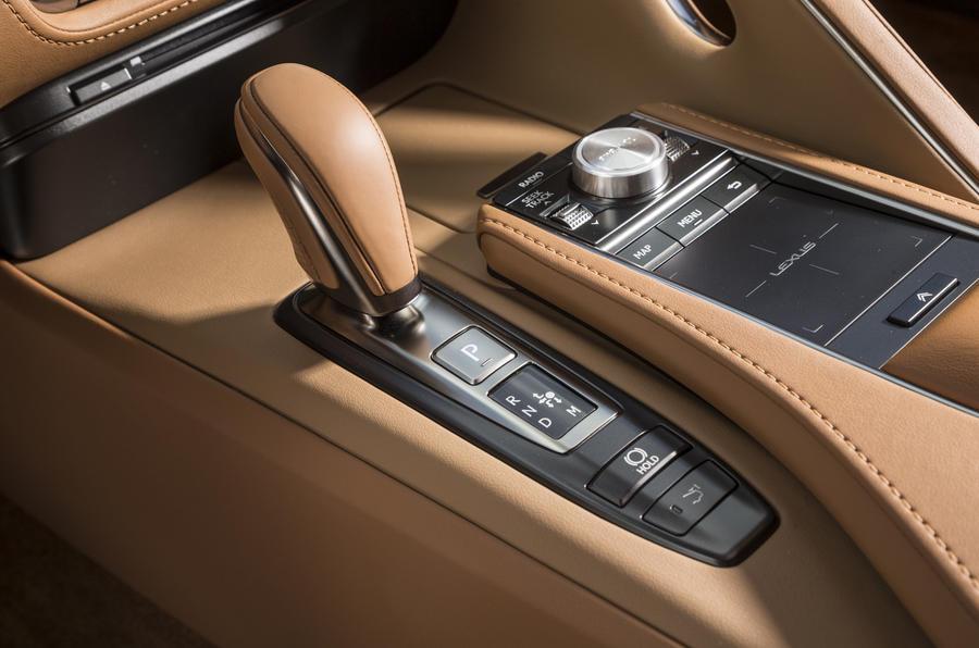 Lexus LC500 automatic gearbox
