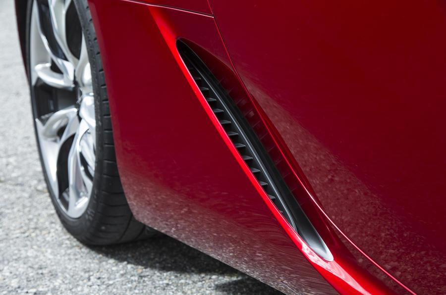 Lexus LC500 brake air duct