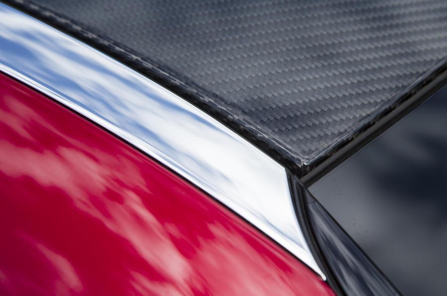 Lexus LC500 carbonfibre roof