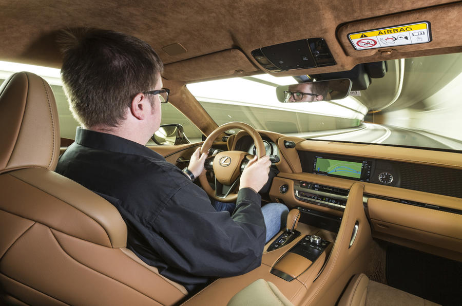 Driving the Lexus LC500