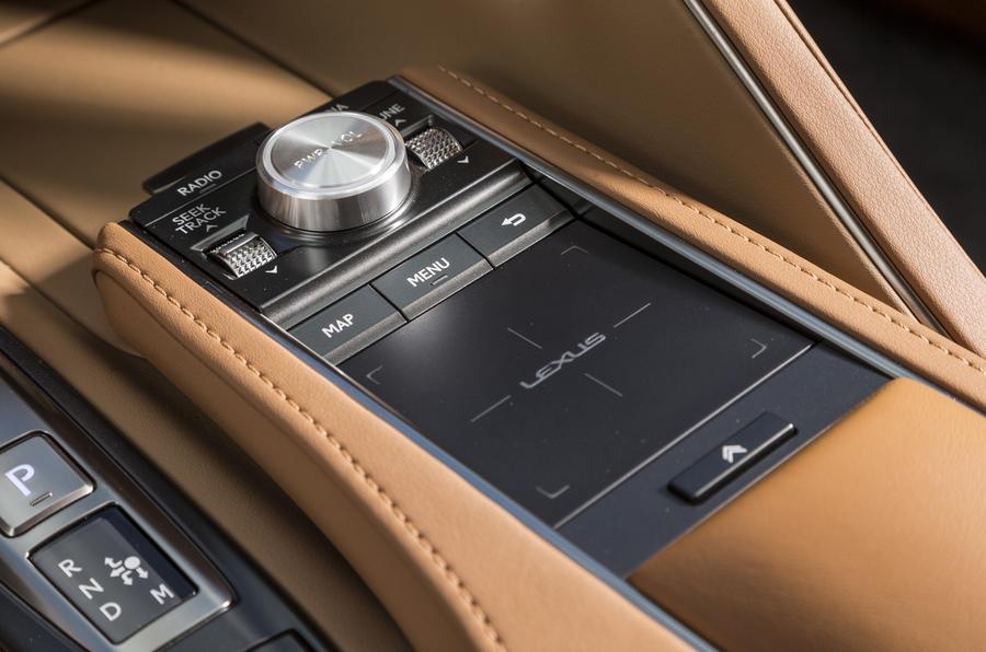 Lexus LC500 infotainment controller