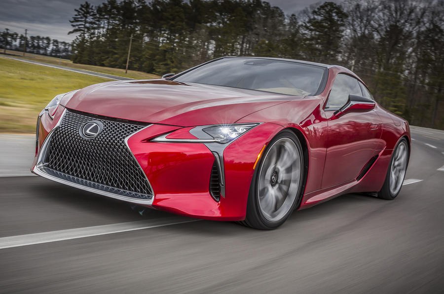 Lexus LC500 and LC500h