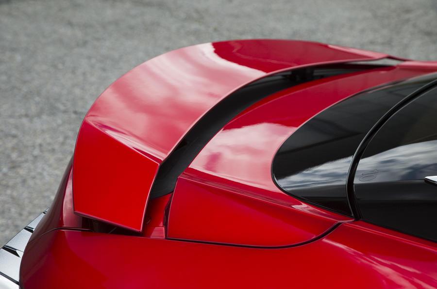 Lexus LC500 rear wing