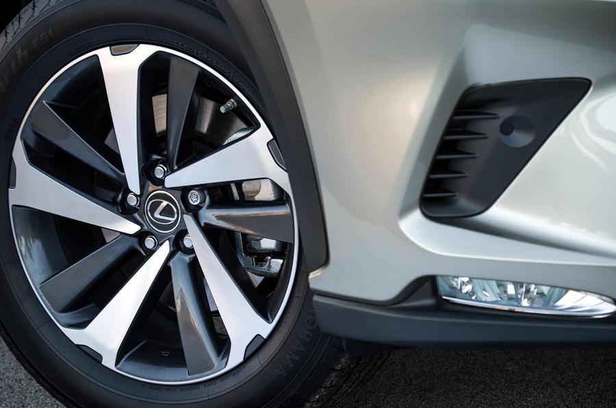Lexus NX alloy wheels