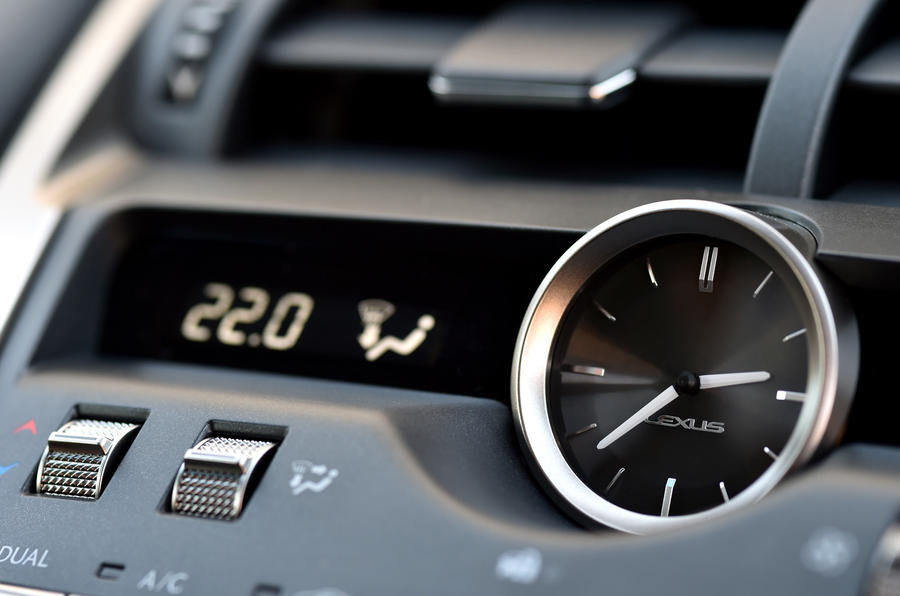 Lexus NX analogue clock
