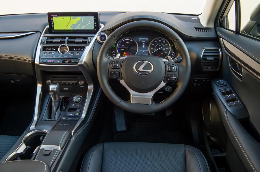 Lexus NX dashboard