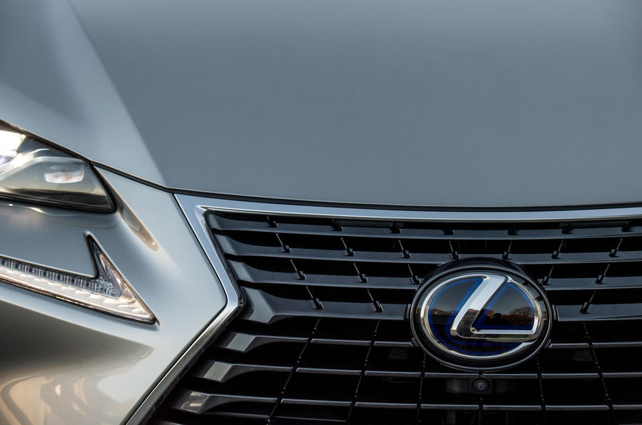 Lexus NX front grille