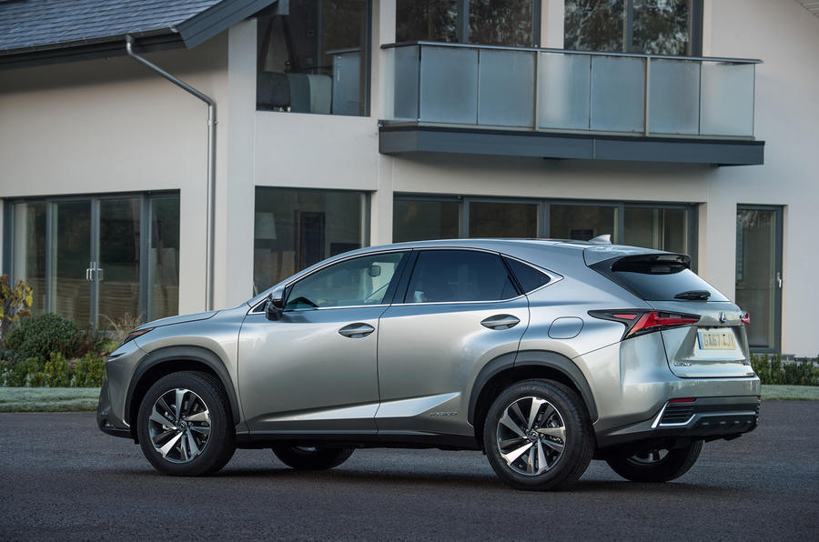 Lexus NX rear quarter