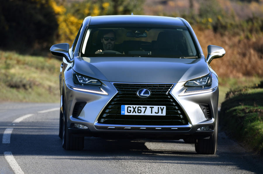 Lexus Nx300h 2018 Review Autocar