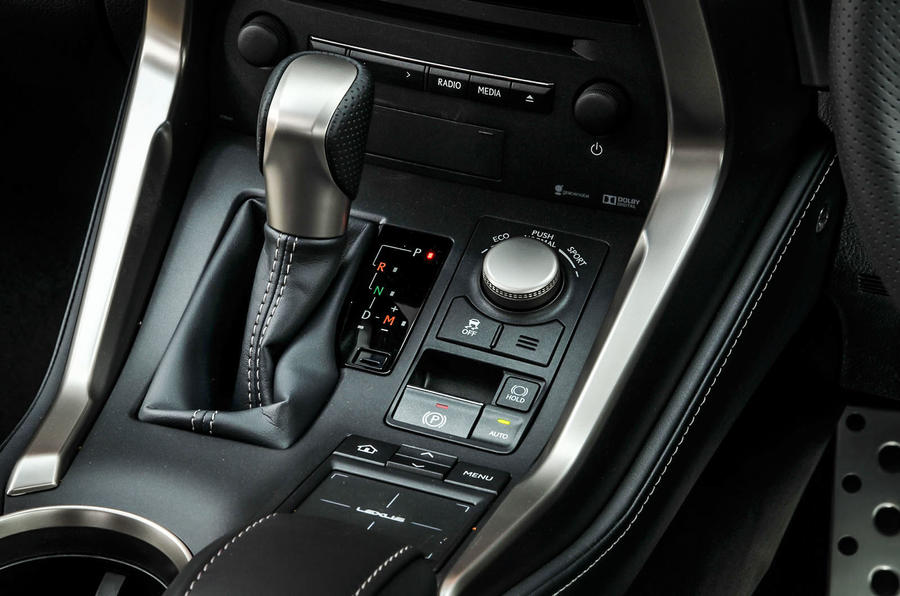 Lexus NX200t CVT gearbox