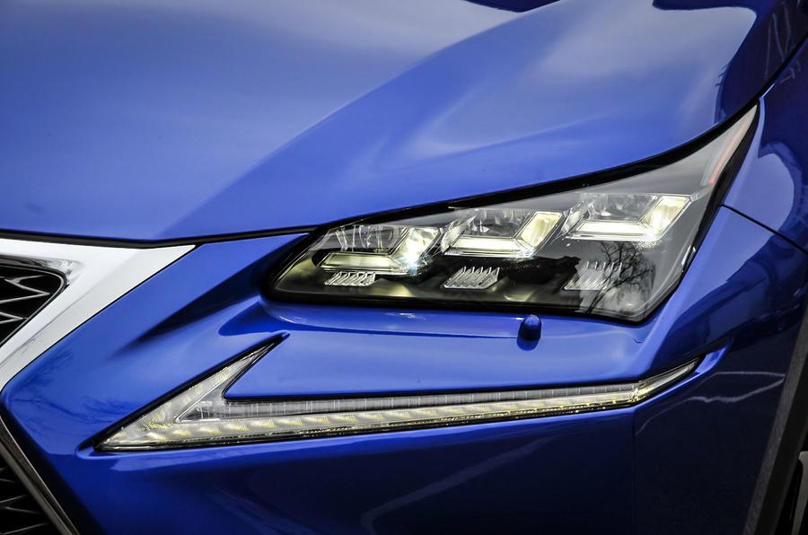 Lexus NX200t LED headlights