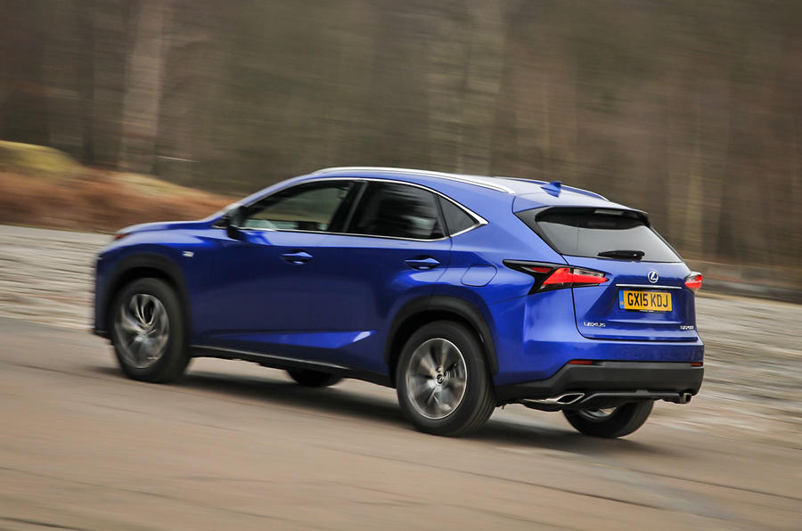 Lexus NX200t rear cornering